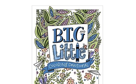 PRE-ORDER: Big and Little Coloring Devotional