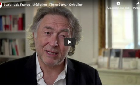 Vidéo : «Médiation Une vision opportuniste et moderne du règlement des conflits» par Pie