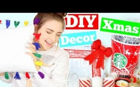 DIY Christmas Decorations 2016 ! Cheap and Easy Holiday Room Decor !