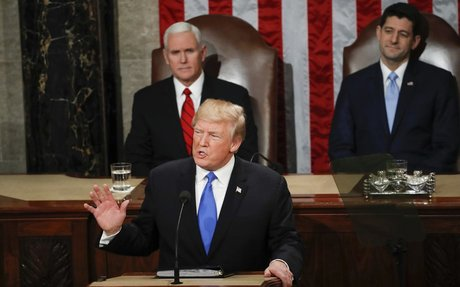Trump State of the Union unites on infrastructure, divides on immigration