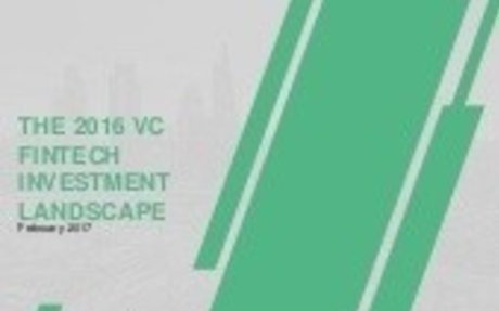 2017-02 Innovate Finance: The 2016 VC FinTech Investment Landscape