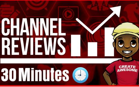 YouTube Channel Review 30 Mins w/ Roberto Blake