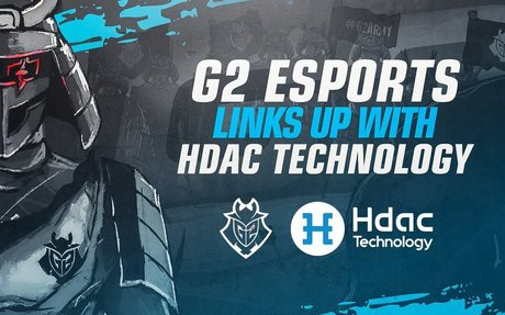 G2 Esports enters strategic partnership with Hdac Technology