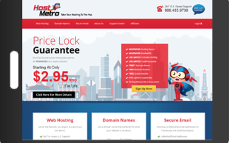Fixed Rate Website Hosting | HostMetro