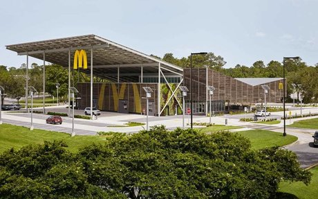 BRAND HIGHLIGHT // On-Site Solar Provides 100% Of The Power At This McDonald's