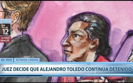 Toledo seguirá detenido en Estados Unidos: juez negó pedido de libertad bajo fianza