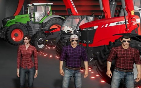 Farming Simulator League mode includes a ban phase, 'power plays,' and a hint of Gambit