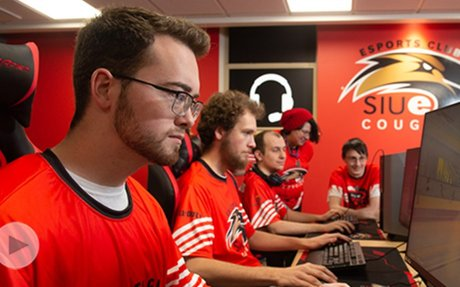 Esports Arena at SIUE Bolsters Video Gaming Opportunities for Students