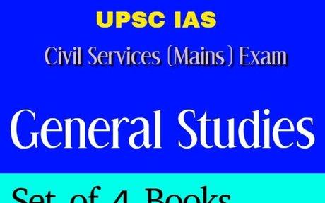 UPSC IAS Mains General Studies Paper 1,2,3,4 Book PDF Download - Study Portal