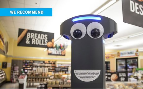 TECH // A Supermarket Has Introduced An In-Store Robot And Shoppers Are Not Impressed