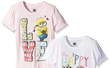 Amazon.com: Despicable Me Girls' Value Pack T-Shirt: Clothing