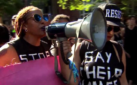LGBTQ Pride Marchers Flood DC Streets for 'Equality March'