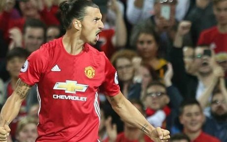 Manchester United beat Saint-Etienne 3-0: Ibrahimovic scores his first hat-trick for the R