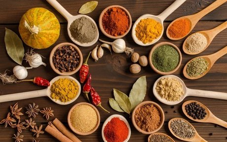 Foods from my Indian Culture (Spices)
