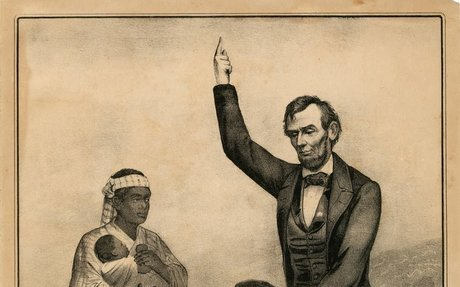 1. Lincoln freeing the slaves