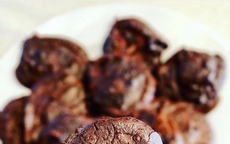Vegan Double Chocolate Black Bean Cookies