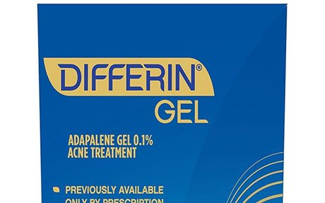 Differin Adapalene Gel 0.1% Prescription Strength Retinoid Acne Treatment (up