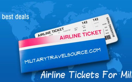 Follow These Tips to Enjoy Cheap Airline Tickets for Military
