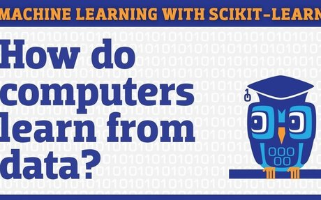 Video tutorial - Machine learning in Python with scikit-learn