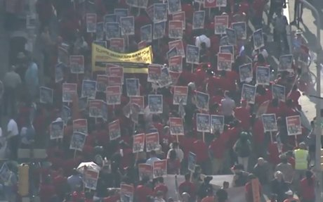 Philly Unions Rally Against Trump's Immigration Policies
