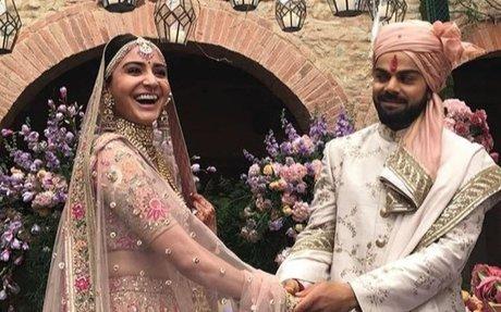 Anushka Sharma, Virat Kohli tie the knot in Italy -  Connected To India