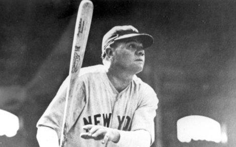 8. Babe Ruth