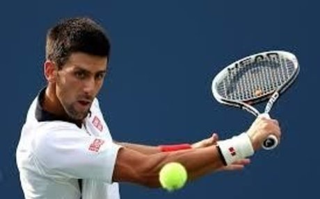 Tennis is a big part of my life. I play it all the time and my favorite player is Novak