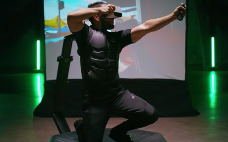 BRAND HIGHLIGHT // Virtuix Is Developing A Home Version Of Its Omni VR Treadmill