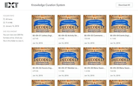 Knowledge Curation System