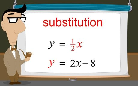 Algebra 36 - Solving Systems of Equations by Substitution