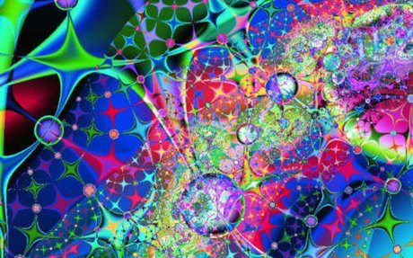 digital art: fractal art: cosmic harmony