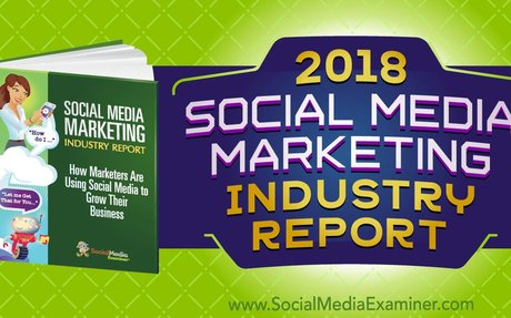 2018 Social Media Marketing Industry Report