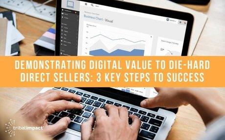 Demonstrating Digital Value To Die-Hard Direct Sellers: 3 Steps To Success #DigitalSelling
