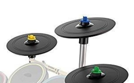 Amazon.com: Rock Band 4 Pro-Cymbals Expansion Drum Kit: Video Games