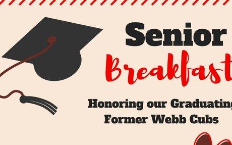 Webb Senior Breakfast