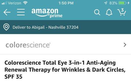 Colorescience Total Eye 3-in-1 Anti-Aging Renewal