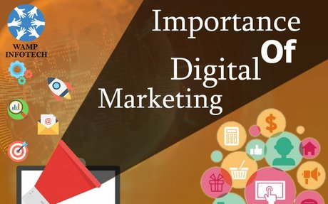 Wamp Infotech- Why Digital Marketing Is Important for Online Business?