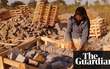 'Our fingers bleed': India's female miners toil over sandstone for the UK | Anumeha Yadav