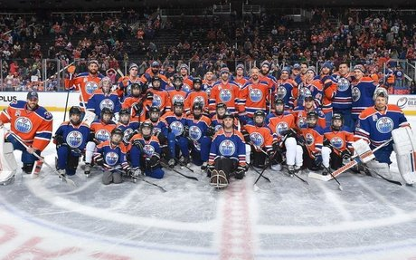 2017 Oilers Skills Competition: Blue wins 21-6