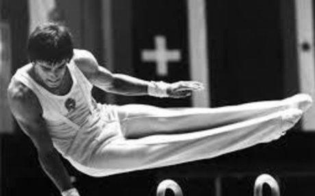 Magyar Zoltán kétszeres olimpiai bajnok tornász