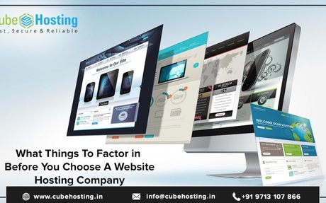 What Things to Factor in Before You Choose A Website Hosting Company