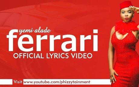 Yemi Alade - Ferrari Official Lyrics Video