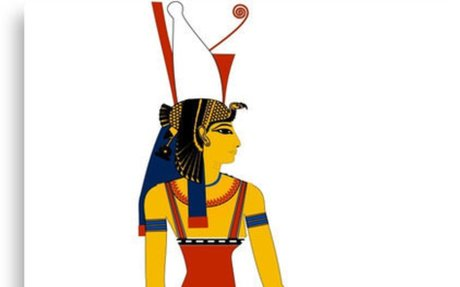 'Mut | Egyptian Gods, Goddesses, and Deities' Canvas Print by FreshThreadShop