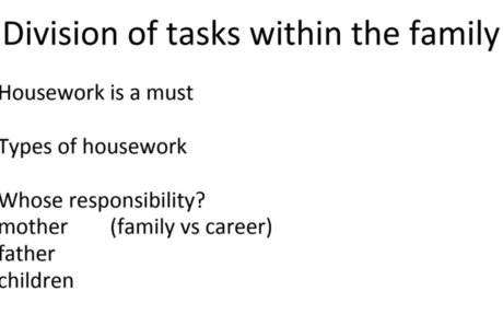 division of tasks with pics.ppt