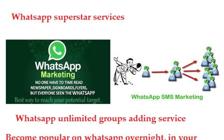 whatsapp unlimited groups adding service for a small fee – Top service provider worldwide