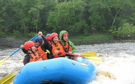 Whitewater Rafting Trip on August 9th