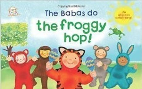 Amazon Books 'The Babas do the Froggy Hop' by Paul Castle [pbk + free song download link]