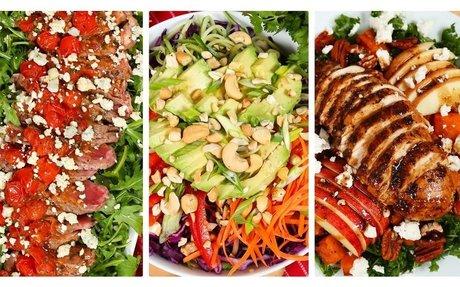 3 Healthy Dinner-Worthy Salads!