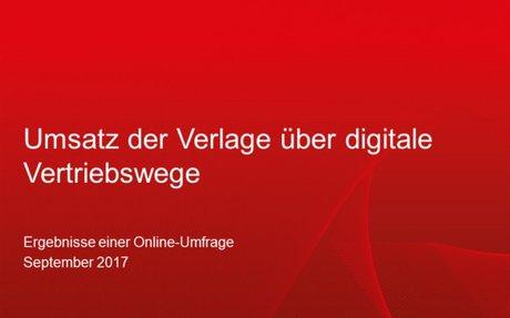Umfrage zu digitalen Umsätzen und Vertriebswegen veröffentlicht – IG Digital im Börsenvere