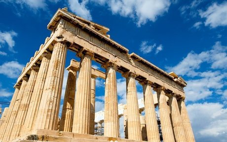 Ancient Greece Architecture, Living and Working Spaces